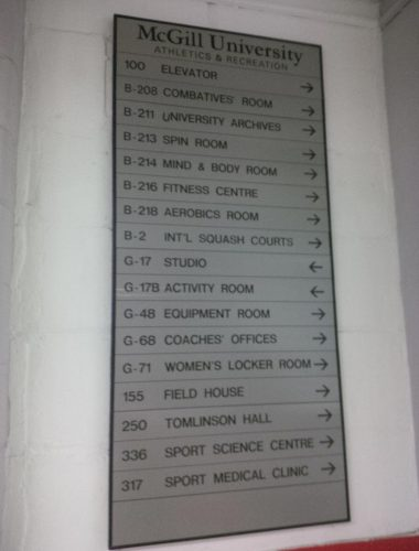 mcgill university engraved directory