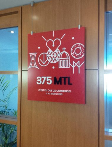 mtl 375 – acrylic plaque and letters