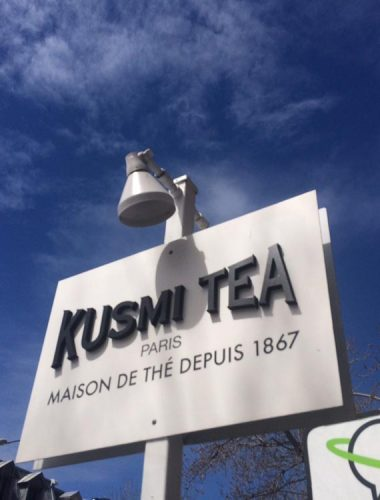the kusmi – restaurant – PVC dimensional letters with vinyl face