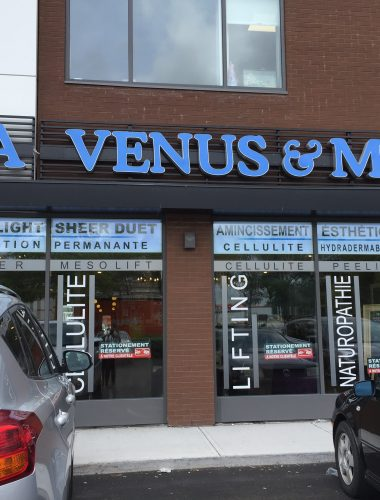 Ahuntsic-Spa- spa venus and mars – lettres illuminé-lettres channel